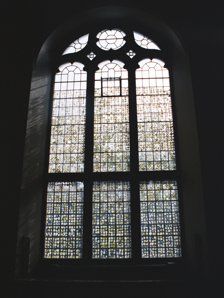 Stained glass window, 2006